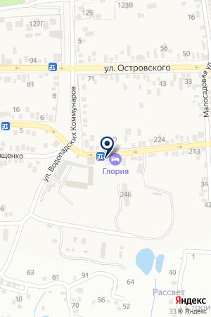Адамант на карте Свобод