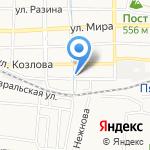 Бюро медико-социальной экспертизы №27 на карте Пятигорска (КМВ)