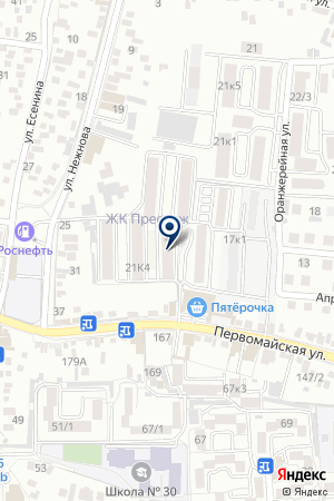 АПТЕКА МЕЛИССА + на карте Пятигорска