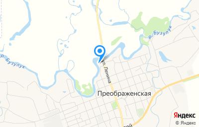Местоположение на карте пункта техосмотра по адресу Волгоградская обл, ст-ца Преображенская, ул Ленина, влд 4