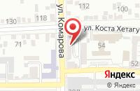 Схема проезда до компании Ипотечный Капиталъ Кмв в Пятигорске