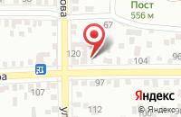 Схема проезда до компании Три пирога в Пятигорске