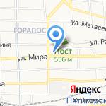 Три пирога на карте Пятигорска (КМВ)