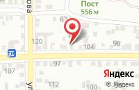 Схема проезда до компании Гиро на Мира в Пятигорске