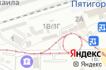 Схема проезда до компании Акцент в Пятигорске