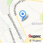 Библиотека №3 на карте Пятигорска (КМВ)