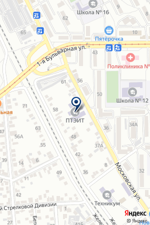 ОО ПЯТИГОРСКИЙ ФИЛИАЛ КОМИТЕТ СОЛДАТСКИХ МАТЕРЕЙ на карте Пятигорска