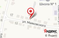 Схема проезда до компании Почтовое отделение №143346 в Калининце