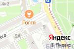 Схема проезда до компании ТРИКОЛОРТВ в Пятигорске