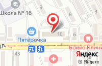 Схема проезда до компании Канцелярские штучки в Пятигорске