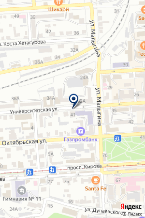 АГЕНТСТВО НЕДВИЖИМОСТИ СОГЛАСИЕ+ на карте Пятигорска