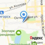 экоЛУГиЯ на карте Пятигорска (КМВ)