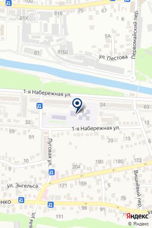 Детский сад №34, Родничок на карте Свобод