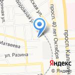 Бокс Джим на карте Пятигорска (КМВ)