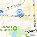 ОпАрт на карте Пятигорска (КМВ)
