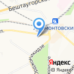 Вектор на карте Пятигорска (КМВ)