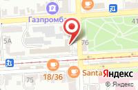 Схема проезда до компании Довиль в Пятигорске