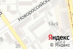 Схема проезда до компании Созидание в Пятигорске