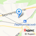 УПТК-Торг на карте Пятигорска (КМВ)