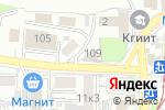 Схема проезда до компании London express в Пятигорске