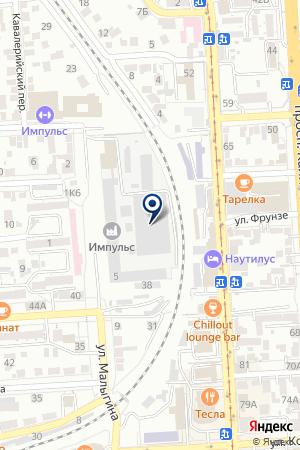 ТФ ЭСКОРТ-КАВКАЗ на карте Пятигорска