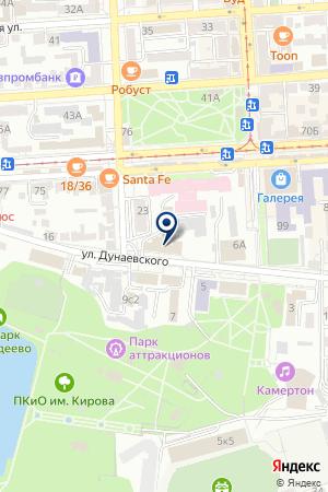 РЕДАКЦИЯ ГАЗЕТЫ ИЗ РУК В РУКИ на карте Пятигорска