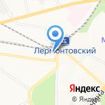 Севкавгеопроектстрой на карте Пятигорска (КМВ)