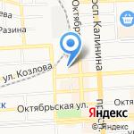 Центр образования №9 на карте Пятигорска (КМВ)