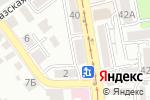 Схема проезда до компании Fferroni в Пятигорске