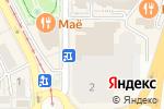 Схема проезда до компании Crea Concept в Пятигорске