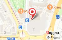 Схема проезда до компании Fabi в Пятигорске