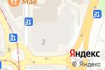 Схема проезда до компании Университи в Пятигорске