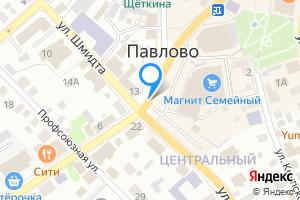 Двухкомнатная квартира в Павлово Павловский р-н