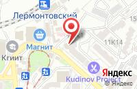 Схема проезда до компании Обувь для вас в Пятигорске