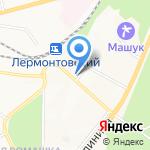 БУМЕРАНГ на карте Пятигорска (КМВ)