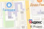 Схема проезда до компании Ника в Пятигорске