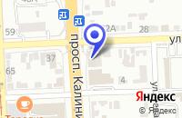 Схема проезда до компании АВИАКАССЫ АВИА АЛЬЯНС в Пятигорске