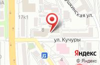 Схема проезда до компании Благотворительный Фонд «Развитие» в Пятигорске