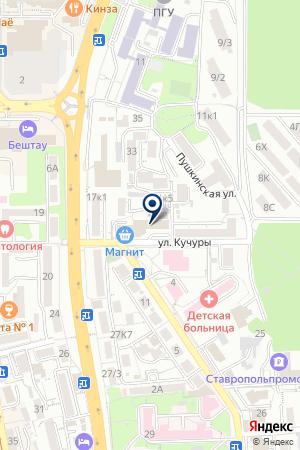 ОСАО СТРАХОВАЯ КОМПАНИЯ РОССИЯ на карте Пятигорска