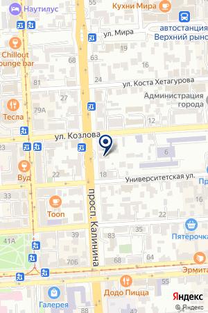 МАГАЗИН БЫТОВОЙ ТЕХНИКИ ТЕХНОДРАЙВ на карте Пятигорска