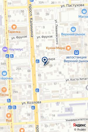 КОМПЬЮТЕРНАЯ ФИРМА СОЛЯРИС на карте Пятигорска