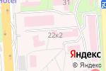 Схема проезда до компании Городская клиническая больница г. Пятигорска в Пятигорске