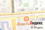 Схема проезда до компании 4х4 в Пятигорске