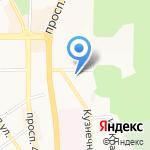 Факультет последипломного образования на карте Пятигорска (КМВ)