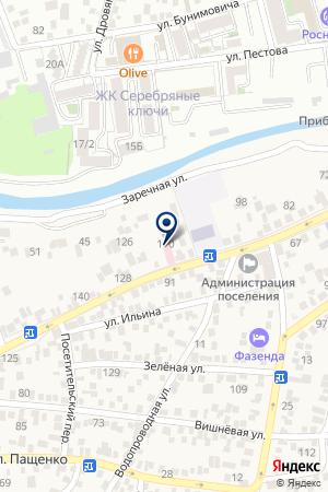 Детская поликлиника №1 на карте Свобод