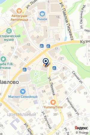 ПАРИКМАХЕРСКАЯ БЬЮТИ-ИМИДЖ на карте Павлово