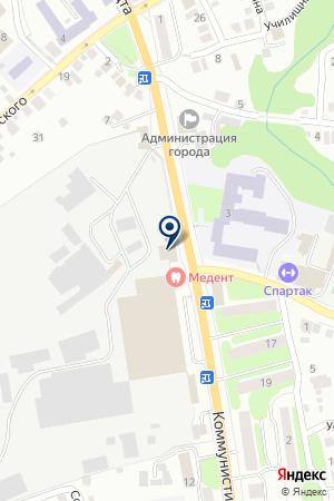 НИЖЕГОРОДСКИЙ ФИЛИАЛ ВОЕННО-СТРАХОВАЯ КОМПАНИЯ на карте Павлово