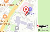 Схема проезда до компании ЦДОПиАТ в Пятигорске