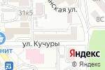 Схема проезда до компании Стройинвест-КМВ в Пятигорске
