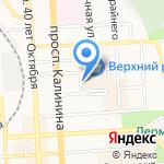 Опт-Торг на карте Пятигорска (КМВ)